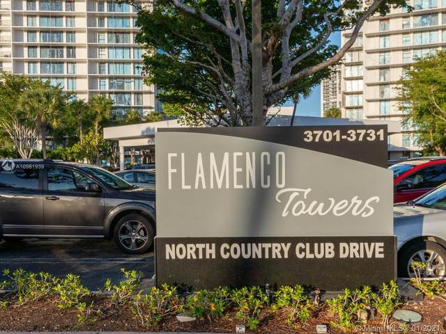 3701 N Country Club Dr #607, Aventura, FL 33180 (MLS #A10981939) :: Search Broward Real Estate Team