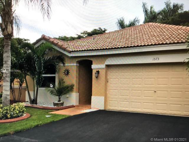 1575 Zenith Way, Weston, FL 33327 (MLS #A10981990) :: Berkshire Hathaway HomeServices EWM Realty