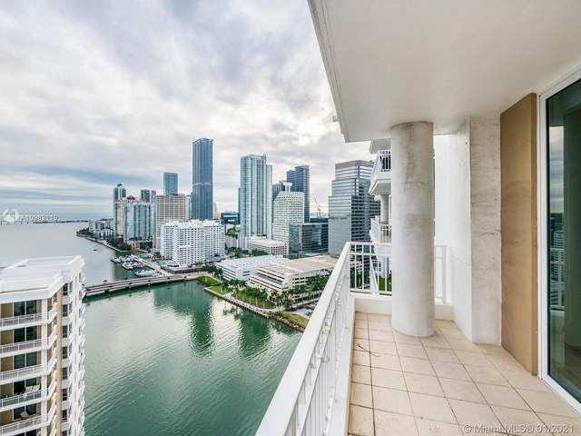 801 Brickell Key Blvd #2705, Miami, FL 33131 (MLS #A10982119) :: The Teri Arbogast Team at Keller Williams Partners SW