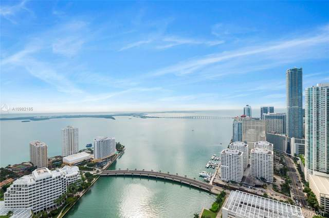 495 Brickell Ave #4603, Miami, FL 33131 (MLS #A10982185) :: Jo-Ann Forster Team