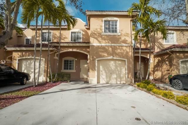 14827 SW 9th Ln #14827, Miami, FL 33194 (MLS #A10982608) :: Miami Villa Group