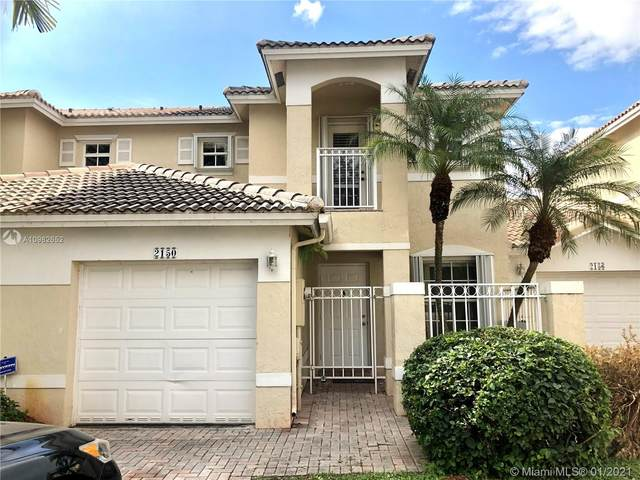 2150 NW 171st Ter #2150, Pembroke Pines, FL 33028 (MLS #A10982652) :: Green Realty Properties