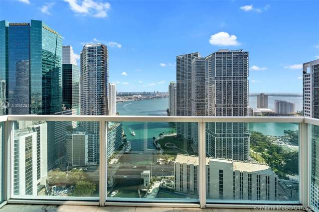 31 SE 5th St #3818, Miami, FL 33131 (MLS #A10982814) :: The Teri Arbogast Team at Keller Williams Partners SW