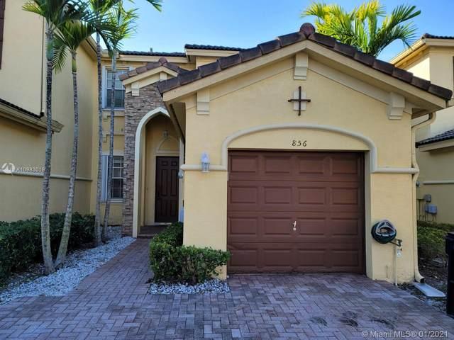 856 SW 154th Path #856, Miami, FL 33194 (MLS #A10983019) :: Carole Smith Real Estate Team