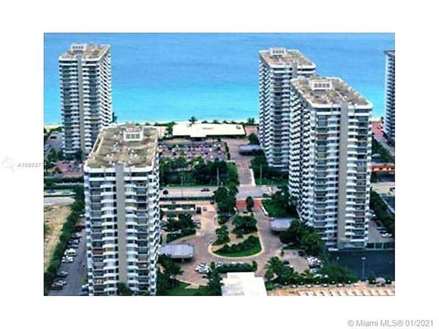 1950 S Ocean Dr 21H, Hallandale Beach, FL 33009 (MLS #A10983774) :: Dalton Wade Real Estate Group