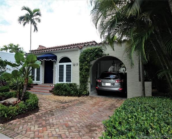 1217 Mariana Ave, Coral Gables, FL 33134 (MLS #A10984148) :: Re/Max PowerPro Realty