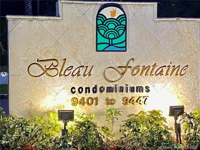 9411 Fontainebleau Blvd #109, Miami, FL 33172 (MLS #A10984160) :: Carole Smith Real Estate Team