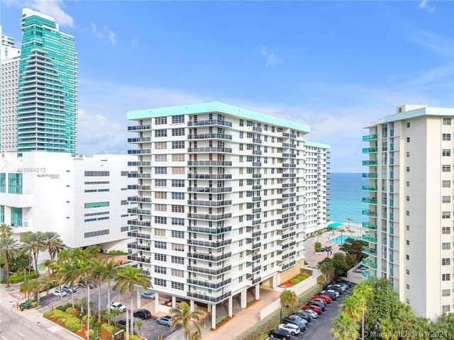 3725 S Ocean Dr #411, Hollywood, FL 33019 (MLS #A10984213) :: Search Broward Real Estate Team
