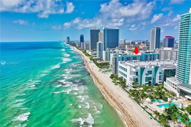 3725 S Ocean Dr #1105, Hollywood, FL 33019 (MLS #A10984228) :: Patty Accorto Team