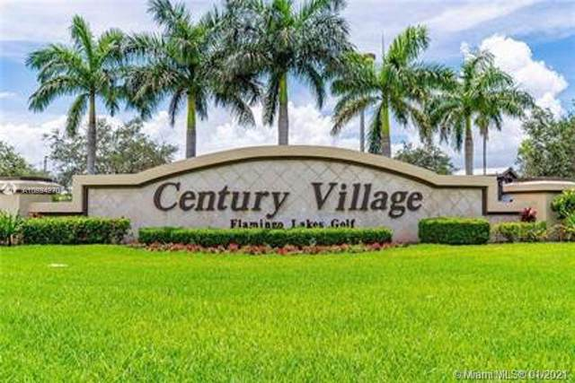 1301 SW 134th Way 307B, Pembroke Pines, FL 33027 (MLS #A10984270) :: The Teri Arbogast Team at Keller Williams Partners SW