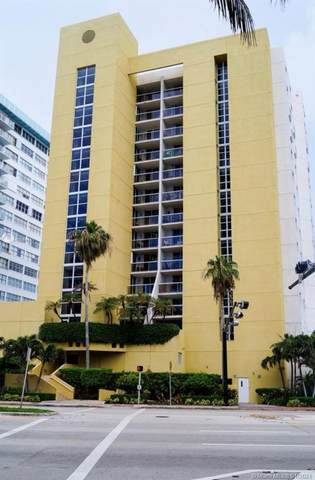 5880 Collins Ave #403, Miami Beach, FL 33140 (MLS #A10984451) :: The Teri Arbogast Team at Keller Williams Partners SW