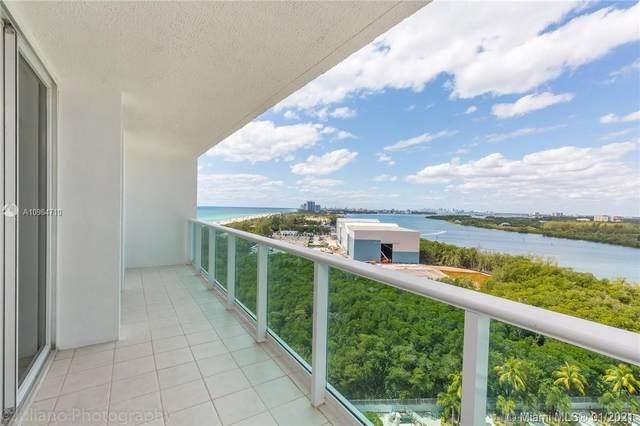 100 Bayview Dr #1621, Sunny Isles Beach, FL 33160 (MLS #A10984710) :: Equity Advisor Team