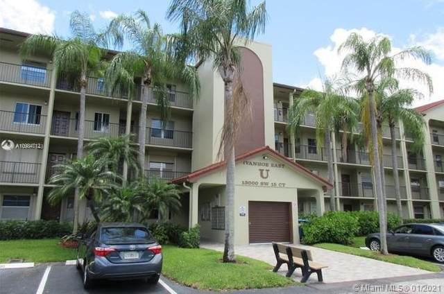 13000 SW 15th Ct 407U, Pembroke Pines, FL 33027 (MLS #A10984712) :: Carole Smith Real Estate Team