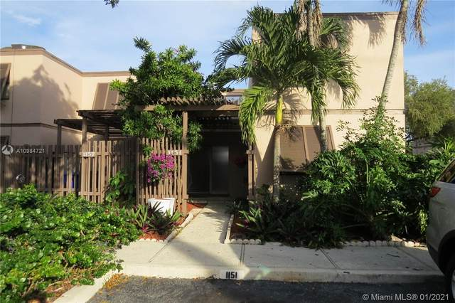 1151 NW 124 Th Ave #1151, Pembroke Pines, FL 33026 (MLS #A10984721) :: The Riley Smith Group