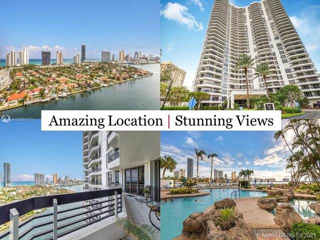 19195 Mystic Pointe Drive 2307-2308, Aventura, FL 33180 (MLS #A10984738) :: The Howland Group
