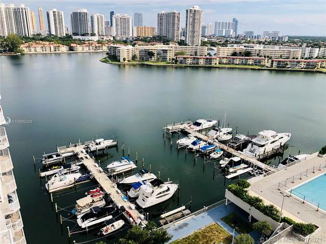 18071 Biscayne Blvd #1503, Aventura, FL 33160 (MLS #A10985023) :: The Pearl Realty Group
