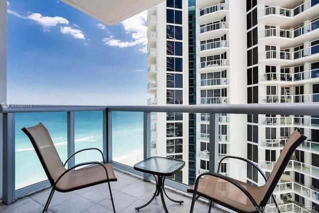 18683 Collins Ave #1403, Sunny Isles Beach, FL 33160 (MLS #A10985178) :: Equity Advisor Team