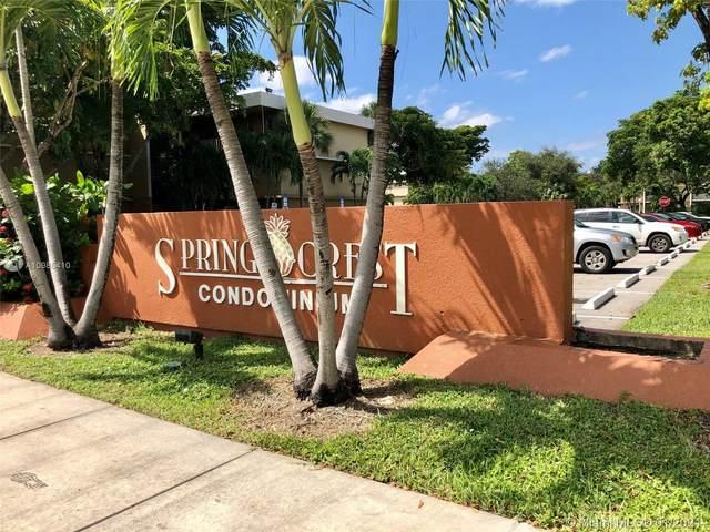 4205 N University Dr #203, Sunrise, FL 33351 (MLS #A10985410) :: The Teri Arbogast Team at Keller Williams Partners SW