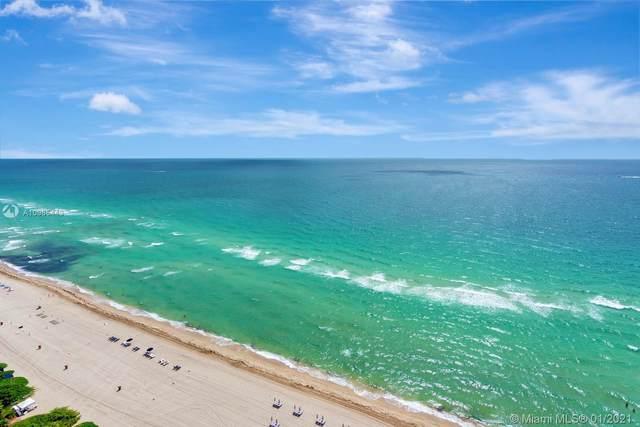17001 Collins Ave #1608, Sunny Isles Beach, FL 33160 (MLS #A10985443) :: Patty Accorto Team