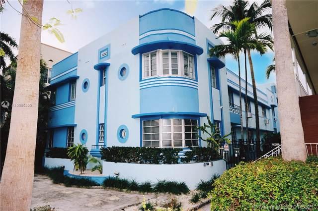 1250 Drexel Ave #2, Miami Beach, FL 33139 (MLS #A10985490) :: Podium Realty Group Inc