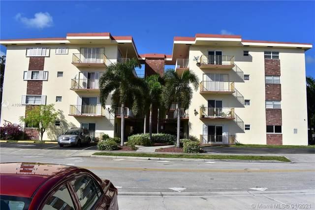 1747 Rodman St #403, Hollywood, FL 33020 (MLS #A10985692) :: Prestige Realty Group