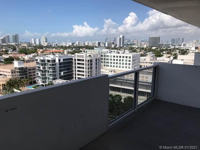 100 Lincoln Rd #1609, Miami Beach, FL 33139 (MLS #A10985717) :: Team Citron