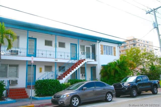 500 77th St #5, Miami Beach, FL 33141 (MLS #A10985726) :: Team Citron
