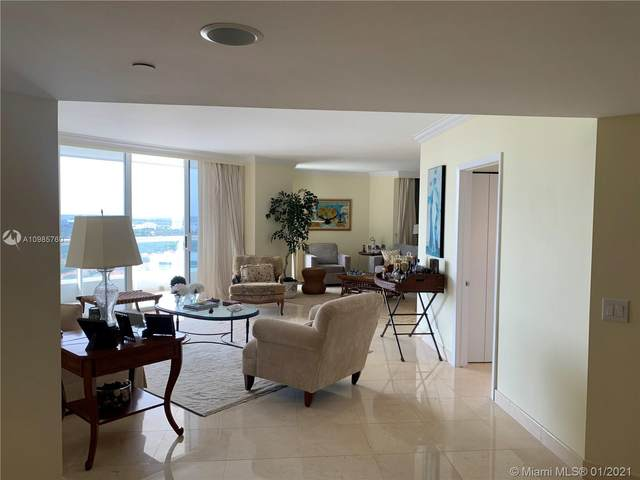 21205 Yacht Club Dr #2308, Aventura, FL 33180 (MLS #A10985760) :: Green Realty Properties