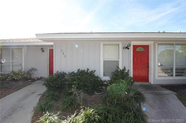513 Pine Ridge Ave, Lantana, FL 33462 (#A10985932) :: Dalton Wade