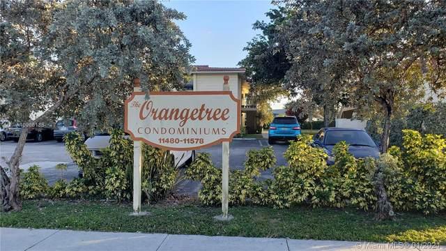 11518 Royal Palm Blvd #115, Coral Springs, FL 33065 (MLS #A10986138) :: Team Citron