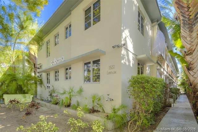 1551 Lenox Ave #6, Miami Beach, FL 33139 (MLS #A10986294) :: Green Realty Properties