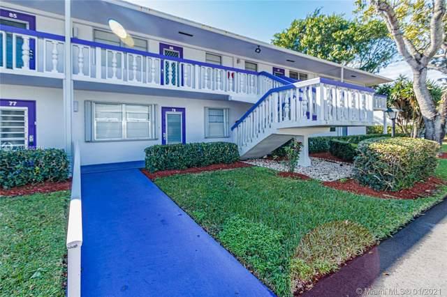 87 E Newport  E #87, Deerfield Beach, FL 33442 (MLS #A10986319) :: Jo-Ann Forster Team