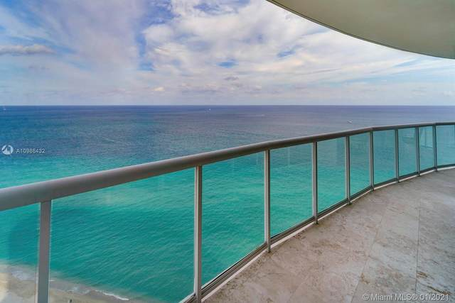 18671 Collins Ave #2402, Sunny Isles Beach, FL 33160 (MLS #A10986432) :: The Howland Group