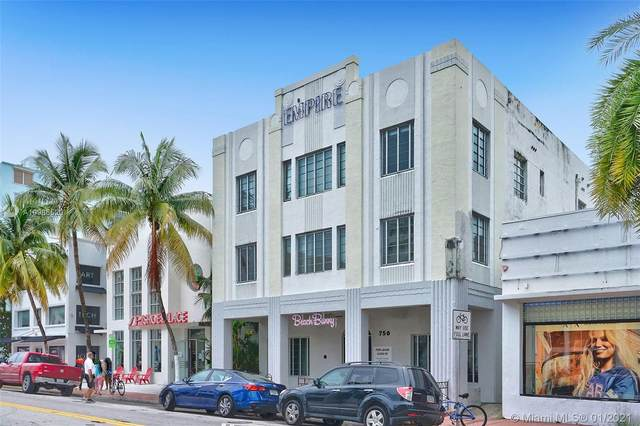750 Collins Ave #200, Miami Beach, FL 33139 (MLS #A10986520) :: The Teri Arbogast Team at Keller Williams Partners SW