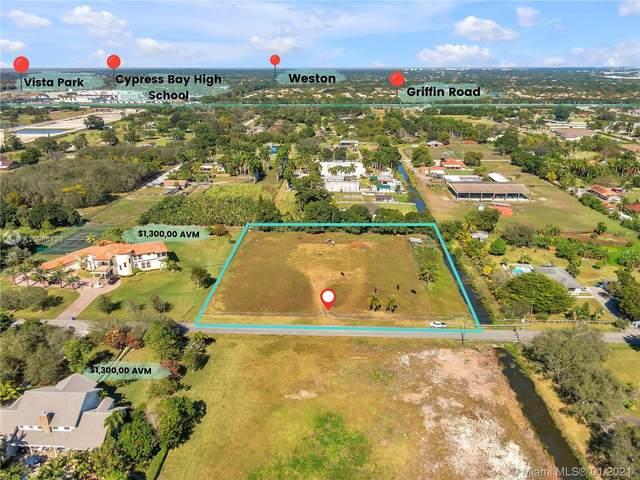 18151 SW 52nd Ln, Southwest Ranches, FL 33331 (MLS #A10986739) :: Miami Villa Group