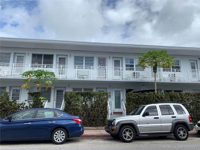 901 10th St #11, Miami Beach, FL 33139 (MLS #A10986973) :: Search Broward Real Estate Team