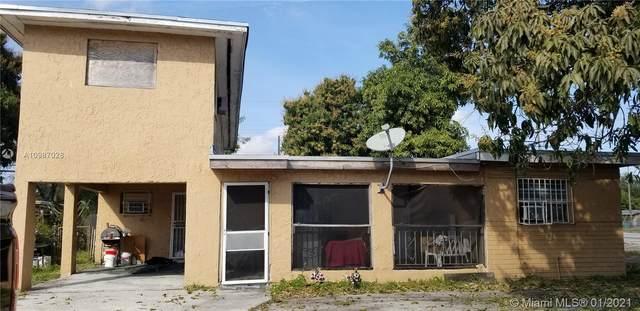 2211 NW 151st St, Miami Gardens, FL 33054 (#A10987028) :: Posh Properties