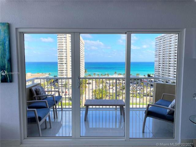 1965 S Ocean Dr 11F, Hallandale Beach, FL 33009 (MLS #A10987073) :: Podium Realty Group Inc