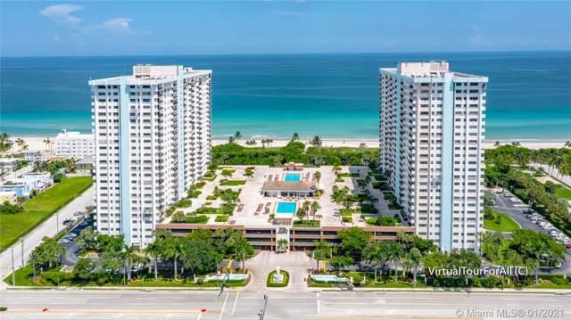 1201 S Ocean Dr 1812S, Hollywood, FL 33019 (MLS #A10987160) :: Albert Garcia Team