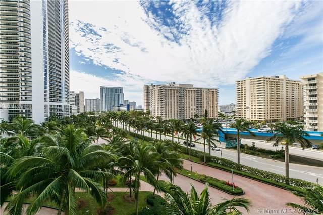 1800 S Ocean Dr #607, Hallandale Beach, FL 33009 (MLS #A10987225) :: Castelli Real Estate Services