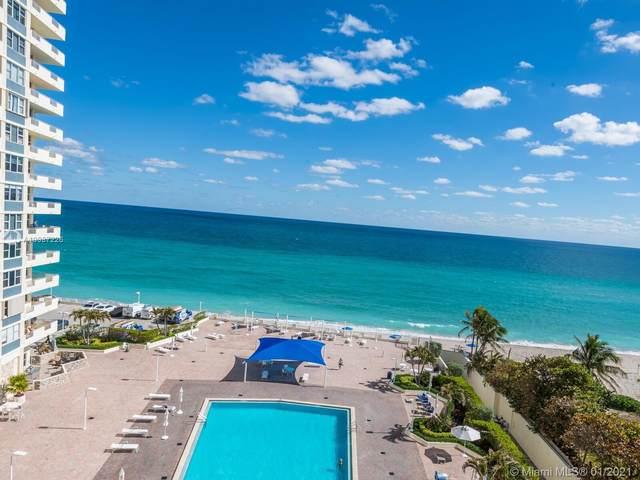 3180 S Ocean Dr #715, Hallandale Beach, FL 33009 (MLS #A10987226) :: Green Realty Properties