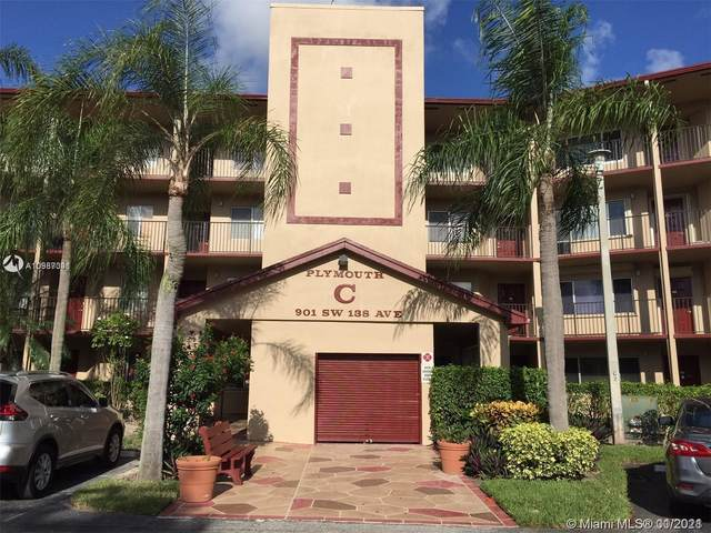 901 SW 138th Ave 106C, Pembroke Pines, FL 33027 (MLS #A10987341) :: KBiscayne Realty