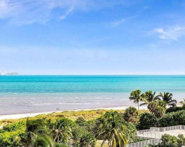 177 Ocean Lane Dr #713, Key Biscayne, FL 33149 (MLS #A10987379) :: Green Realty Properties