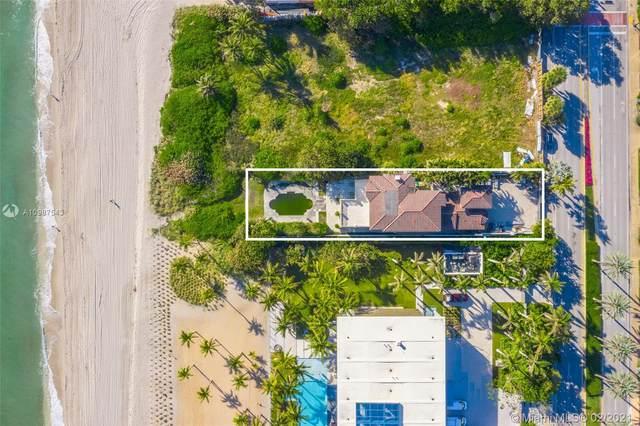 407 Ocean Blvd, Golden Beach, FL 33160 (MLS #A10987543) :: The Paiz Group