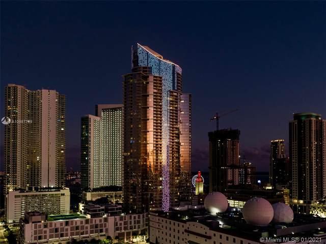 851 NE 1st Ave #1701, Miami, FL 33132 (MLS #A10987799) :: Castelli Real Estate Services