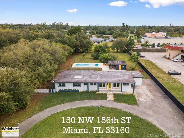 150 NW 156th St, Miami, FL 33169 (MLS #A10987946) :: THE BANNON GROUP at RE/MAX CONSULTANTS REALTY I
