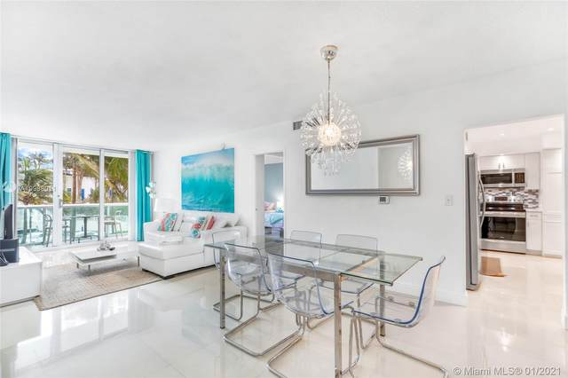 3901 S Ocean Dr 2L, Hollywood, FL 33019 (MLS #A10988011) :: Douglas Elliman