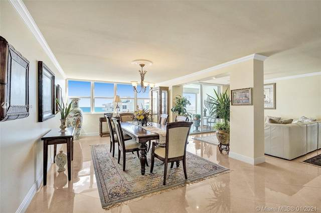 1410 S Ocean Dr #1008, Hollywood, FL 33019 (MLS #A10988135) :: Search Broward Real Estate Team