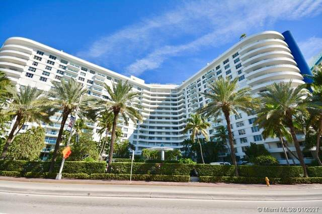 5161 Collins Ave #1012, Miami Beach, FL 33140 (MLS #A10988327) :: Miami Villa Group