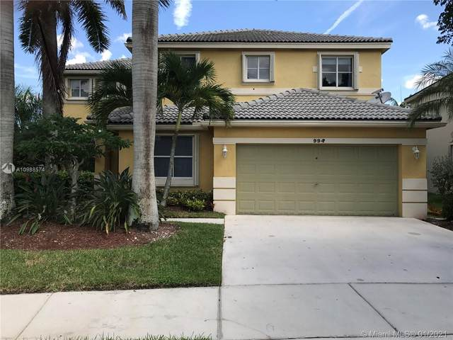 994 Sunflower Cir, Weston, FL 33327 (MLS #A10988574) :: The Howland Group